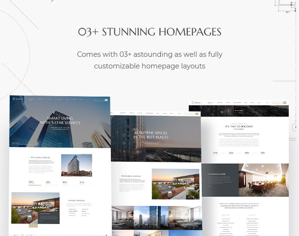 03+ stunning homepages in MaisonCo Single Property For Sale & Rent WordPress Theme