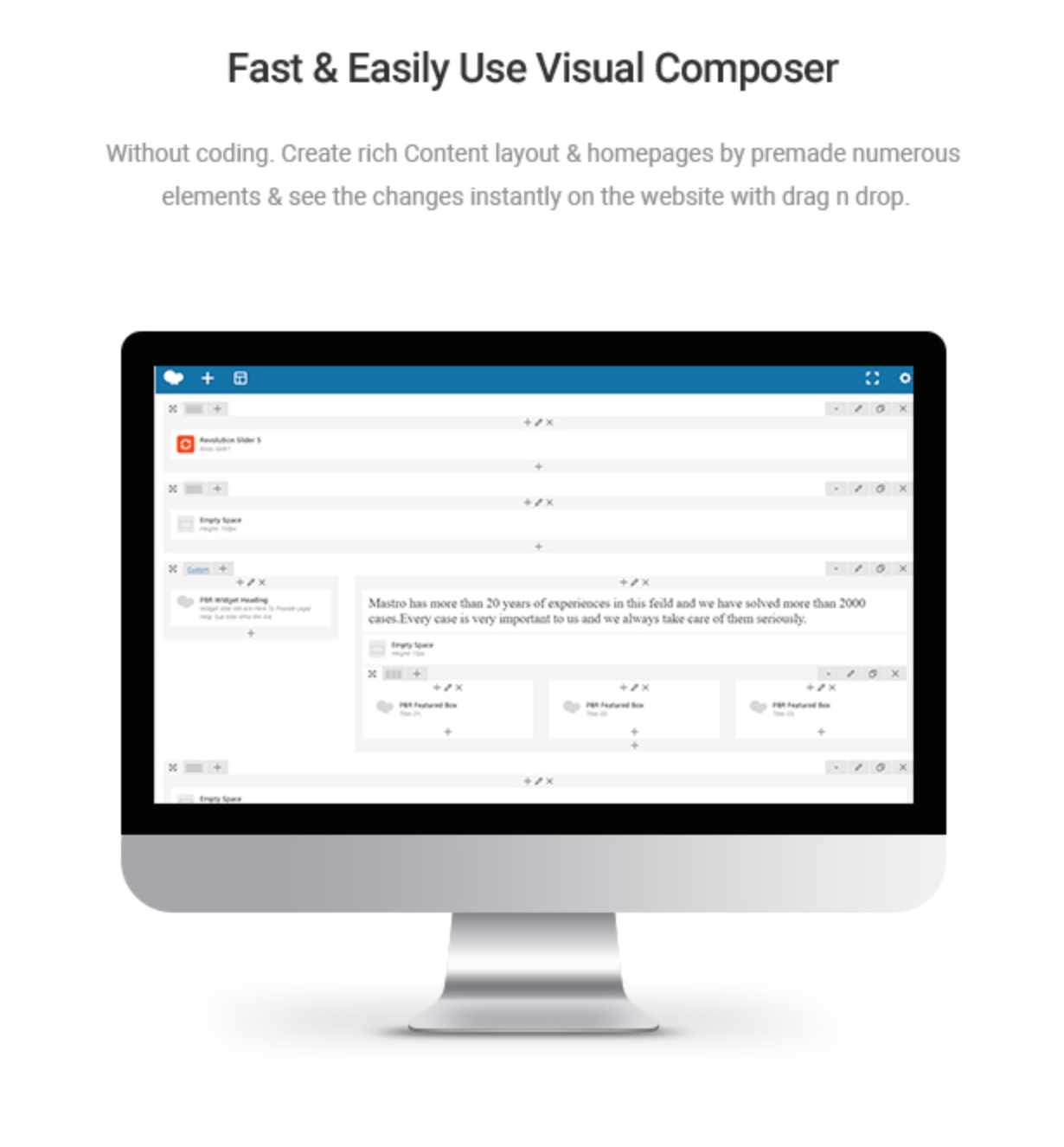 Mastor - Law, Firm & Legal Attorney WordPress Theme Visual Composer