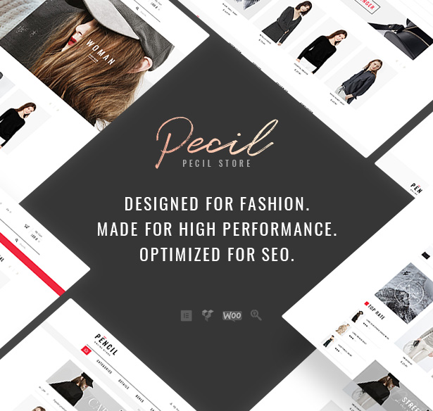 Pecil - AWESOME FASHION WOOCOMMERCE WORDPRESS THEME