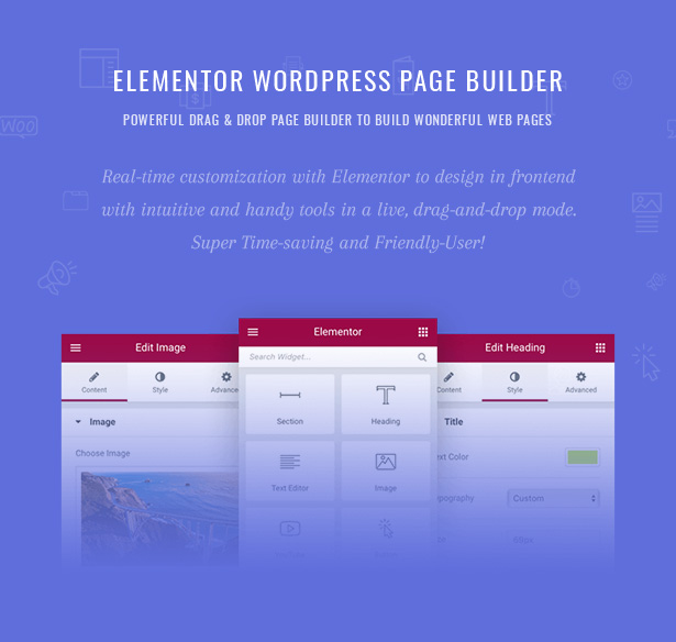 Pecil Elementor Wordpress Page Builder