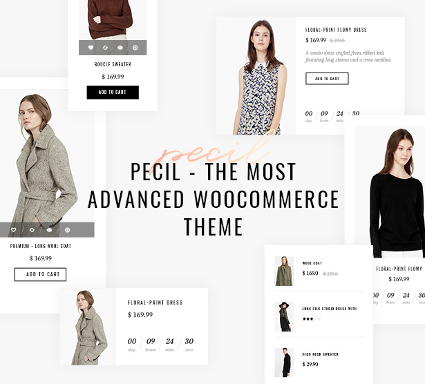 Pecil The Most Advanced Woocommerce Theme