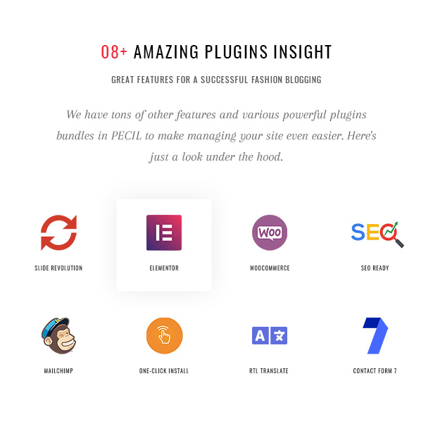 Pecil Amazing Plugins Insight