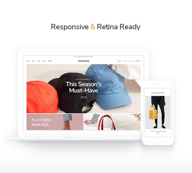 Retina WooCommerce Themes