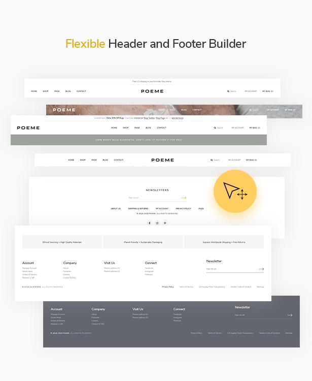 WordPress Header & Footer Builder - Elementor