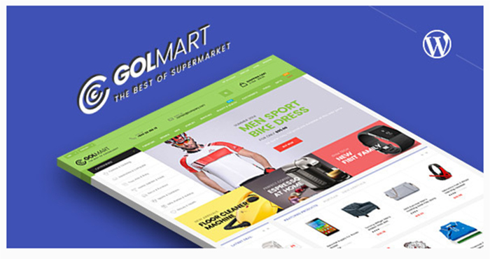 Review Golmart - Creative WooCommerce WordPress Theme