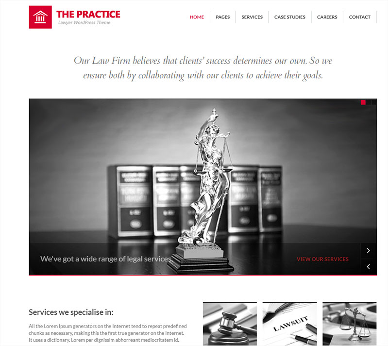 the-practice attorney wordpress theme