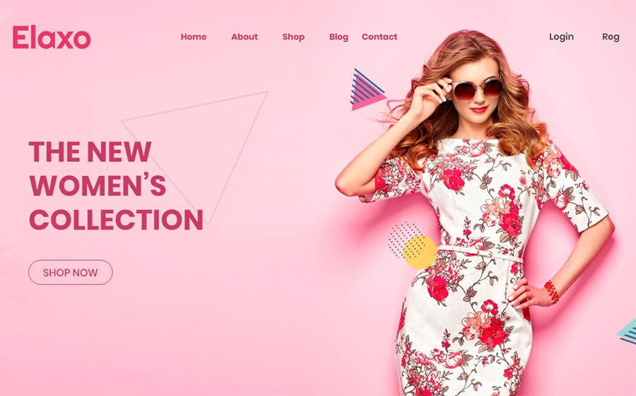 Elaxo - Fashion WooCommerce Theme<img src=