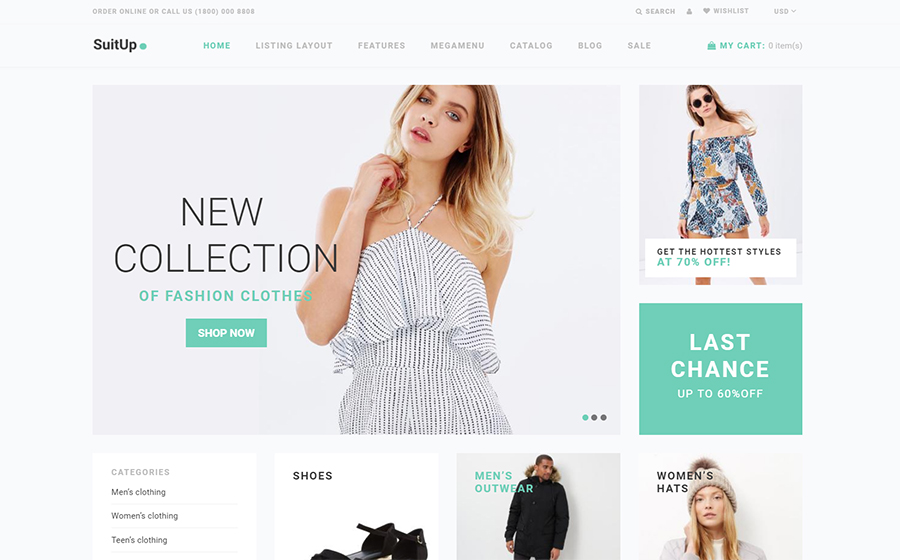SuitUP - Multipurpose Online Store Shopify Theme<img src=