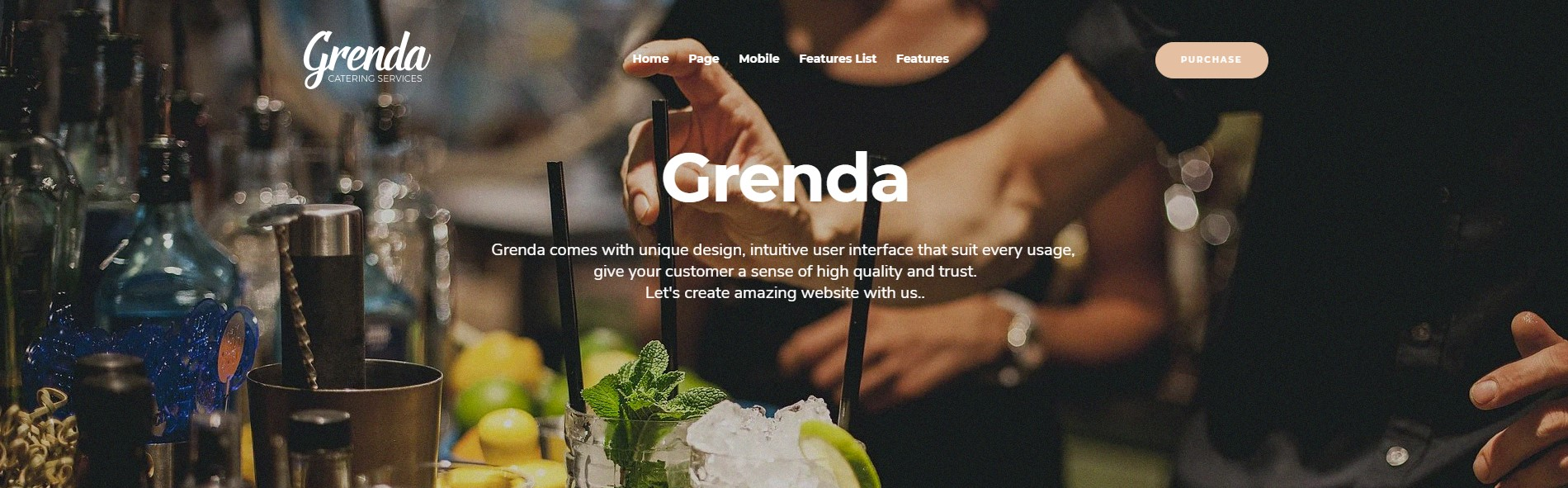 Grenda – Event Planner WordPress Theme
