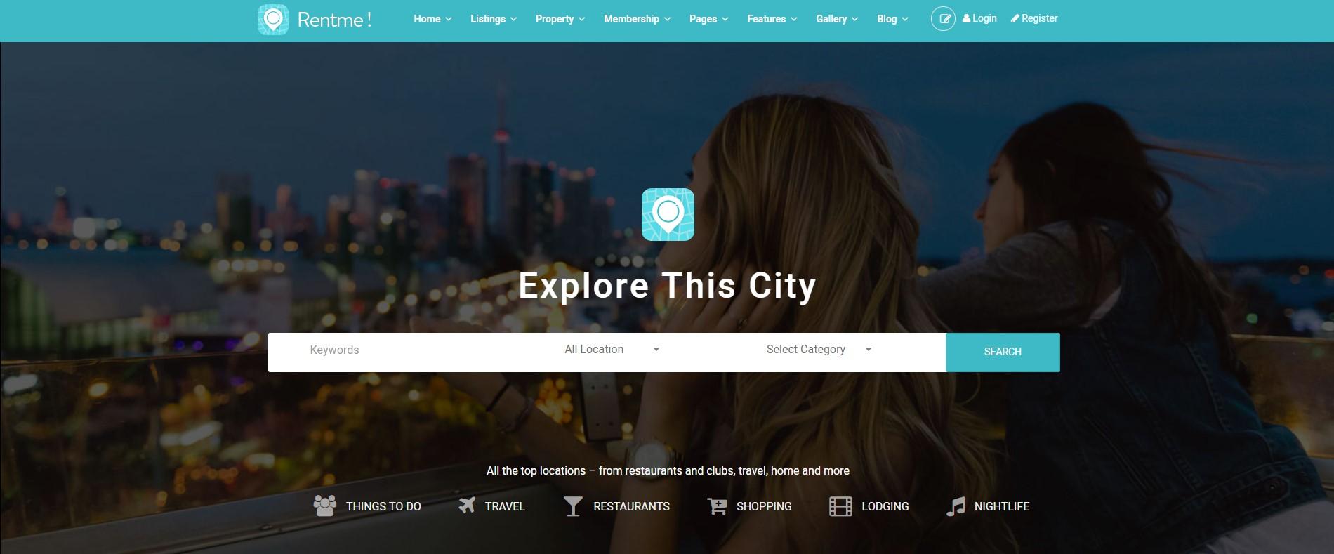 Rentme - Directory & Listings Multipurpose WordPress Theme