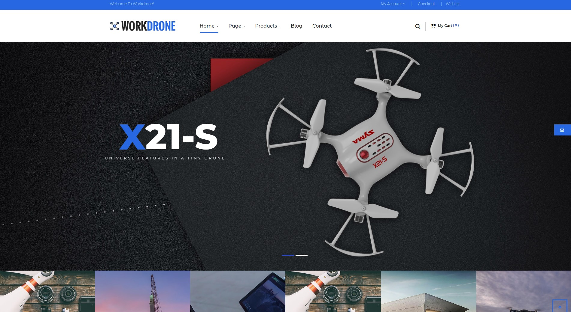 Done - Best Free WordPress Themes for Drone