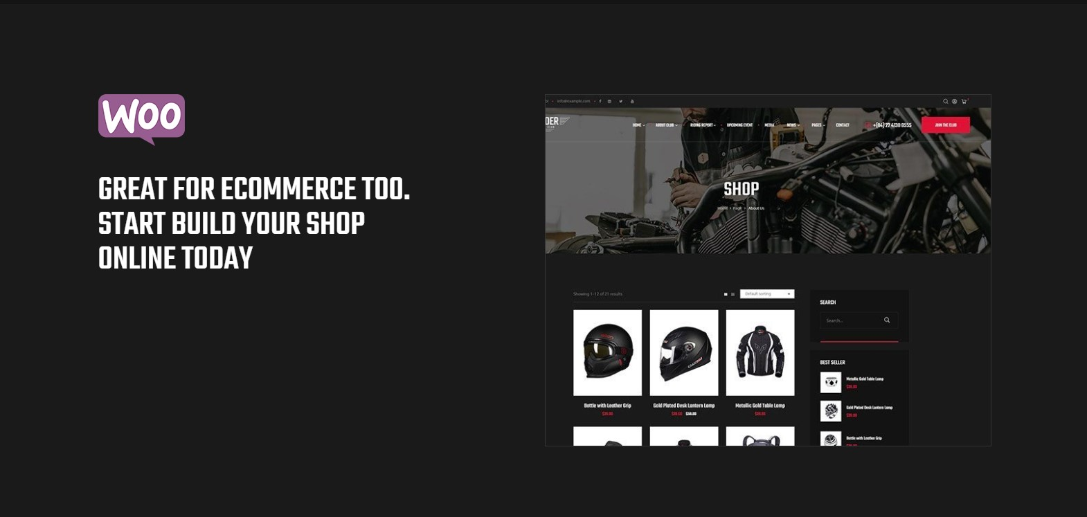 Incredibly Shop Page Designed