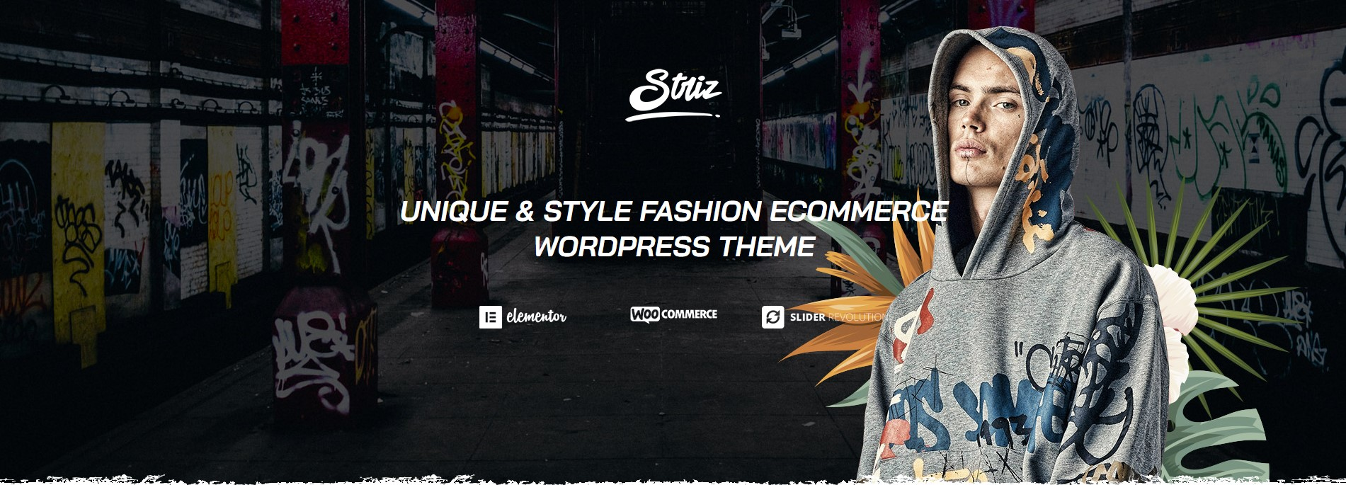 striz stress fashion wordpress theme