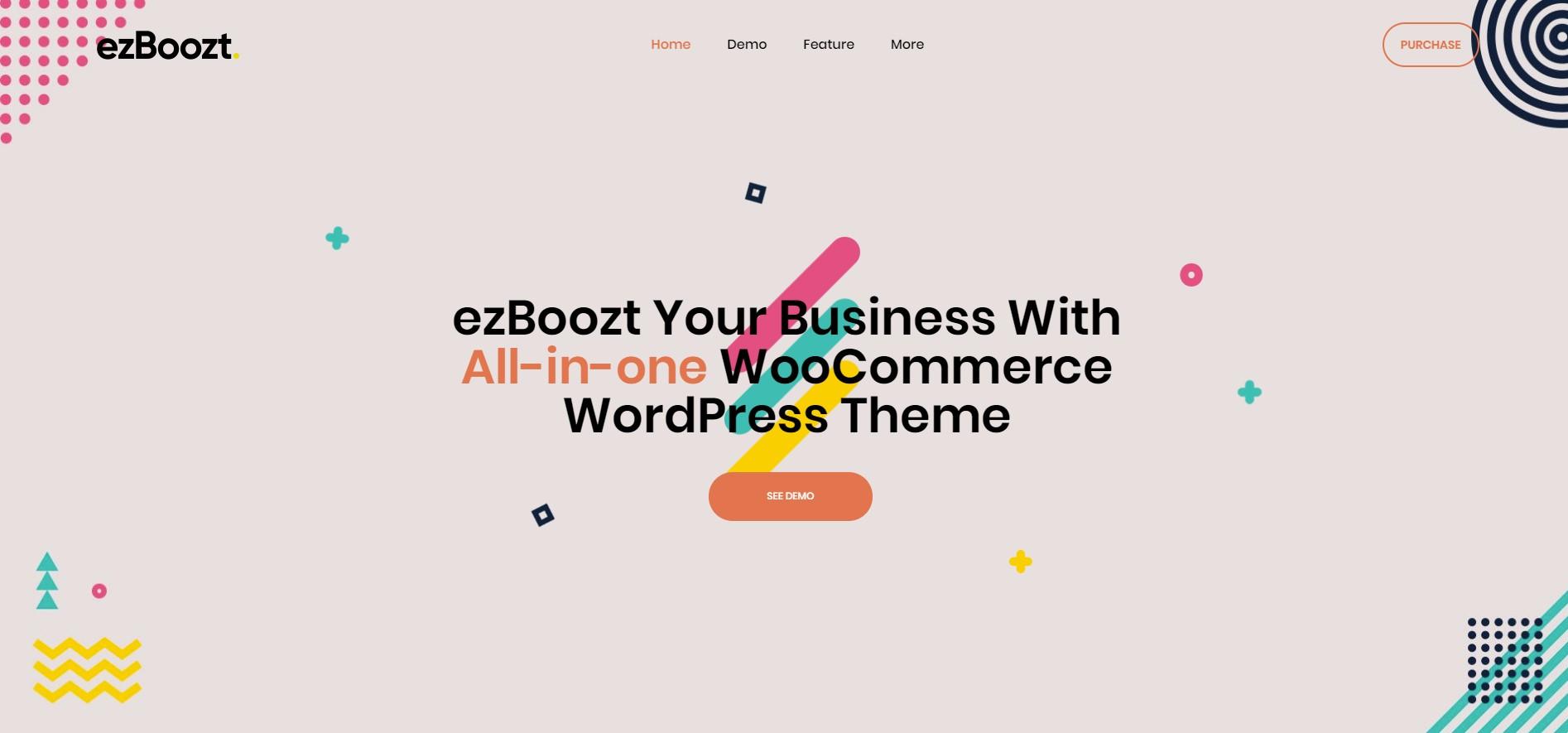 Ezboozt Multipurpose WordPress Theme
