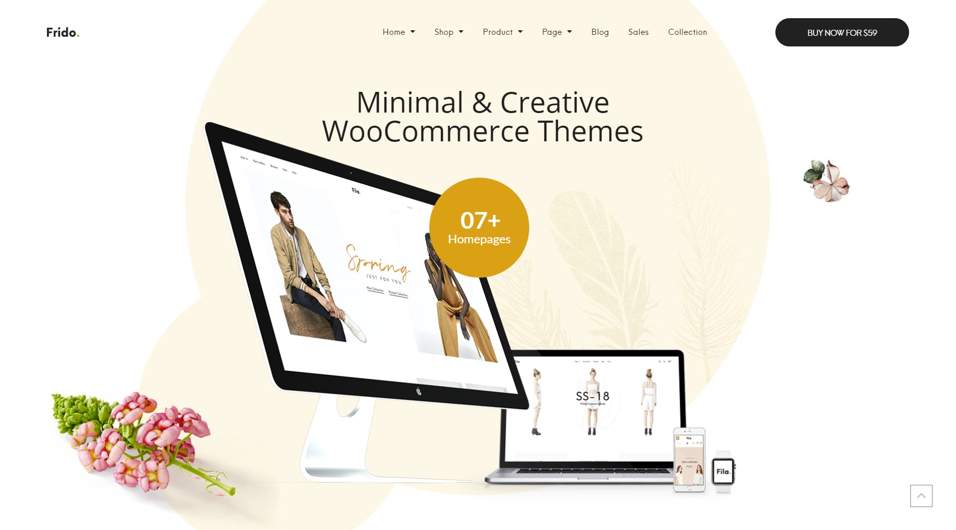 Frido Fashion WordPress Theme