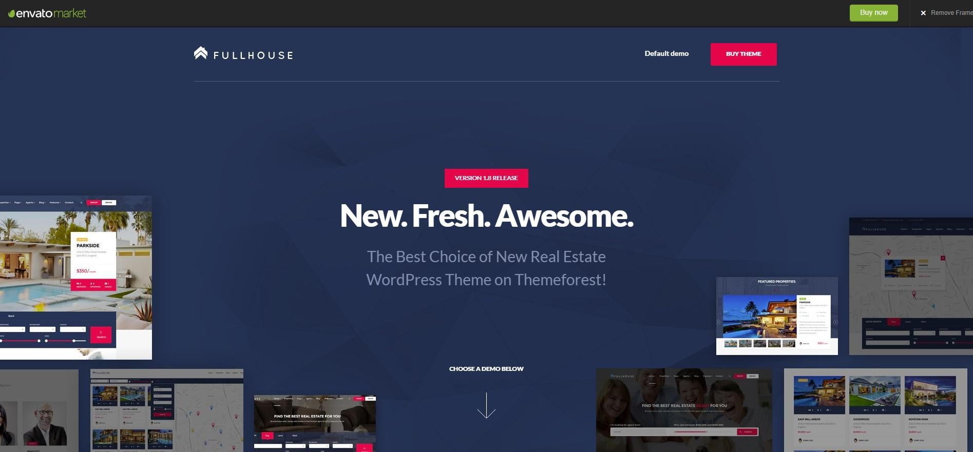 Fullhouse Real Estate WordPress Theme