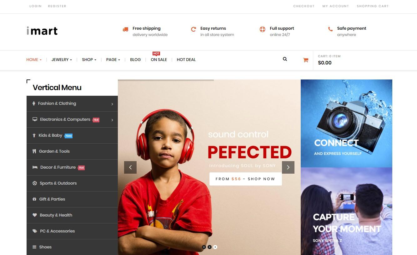 Imart Multipurpose WordPress Theme