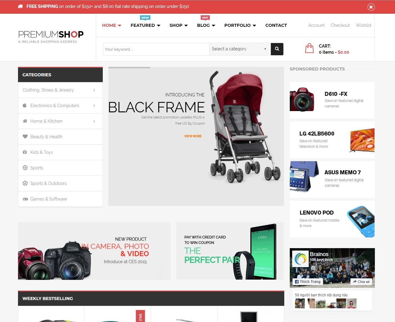 Premiumshop Digital Store WordPress Theme