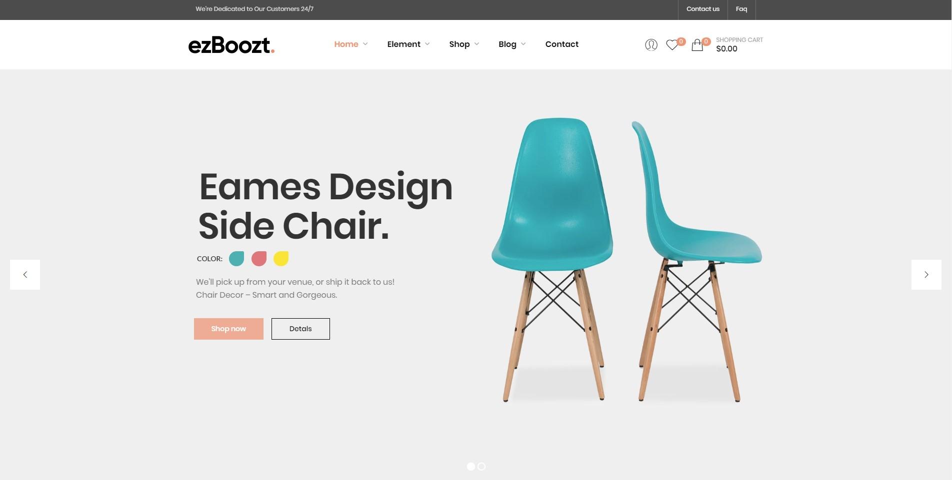 EzBoozt Clean WordPress Theme