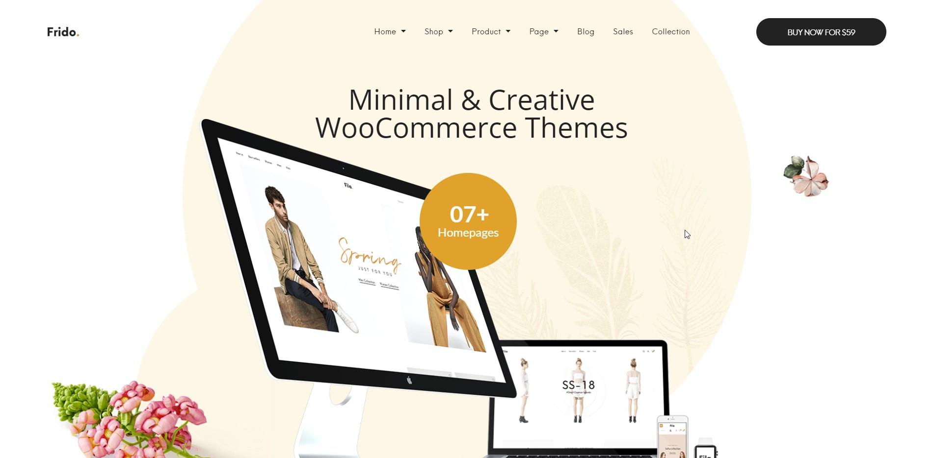 Frido - Minimal & Creative WooCommerce Theme