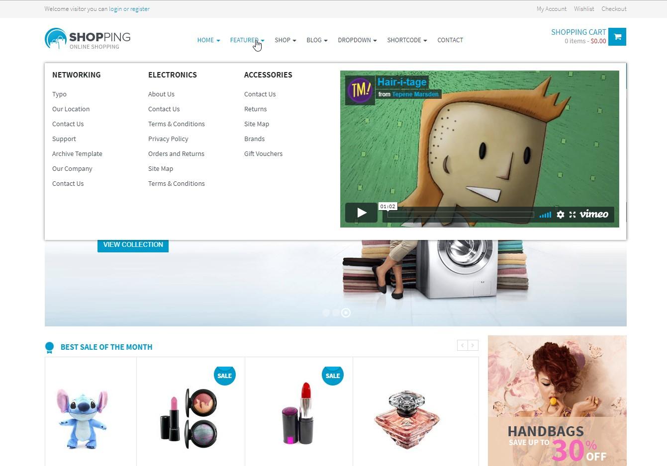 Shopping WooCommerce Theme
