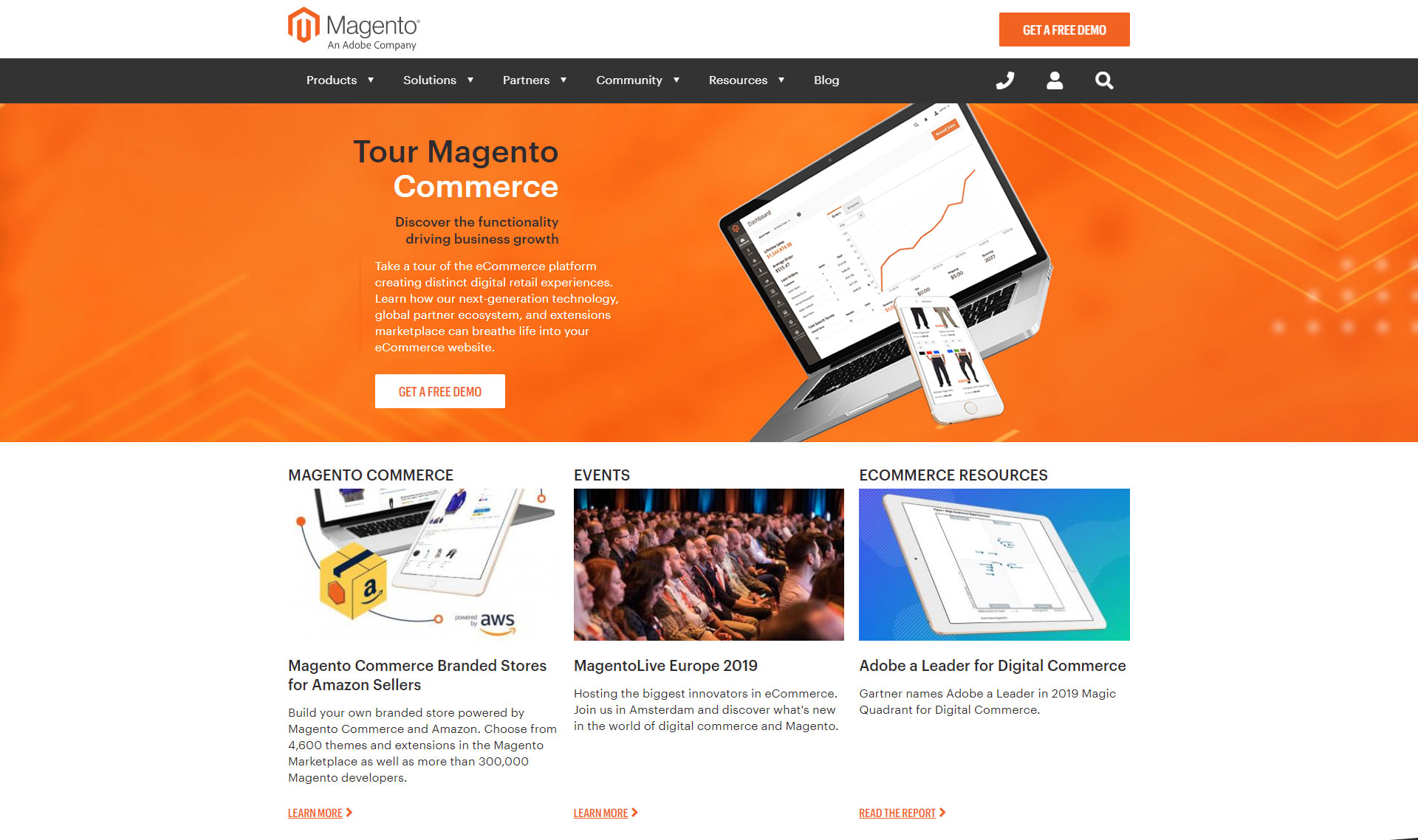 Magento - Best Free Content Management System