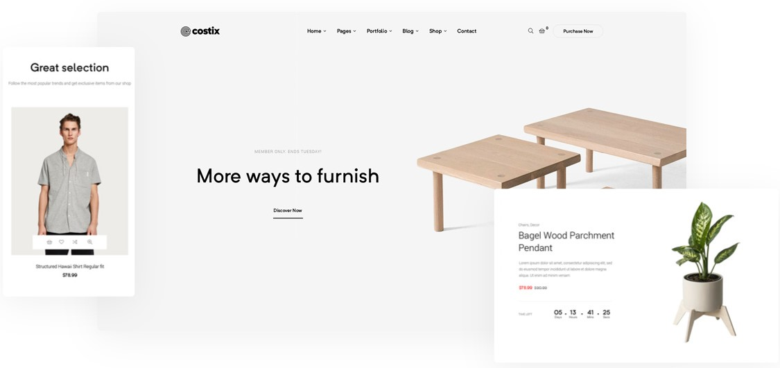 Costix Shop - All in one WordPress Theme