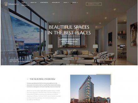 Maisonco - Single Property WordPress Theme - wpopal