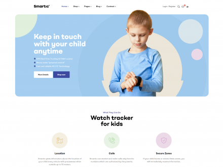 Smartic - Product Landing Page WooCommerce Theme -wpopal