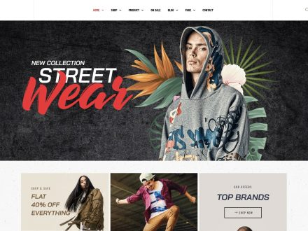 Striz - Fashion Ecommerce WordPress Theme - wpopal