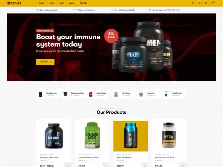 Supplero - Supplement Store WooCommerce Theme - wpopal